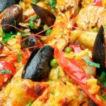 Paella di Pesce a 32€ minimo per 2 Persone